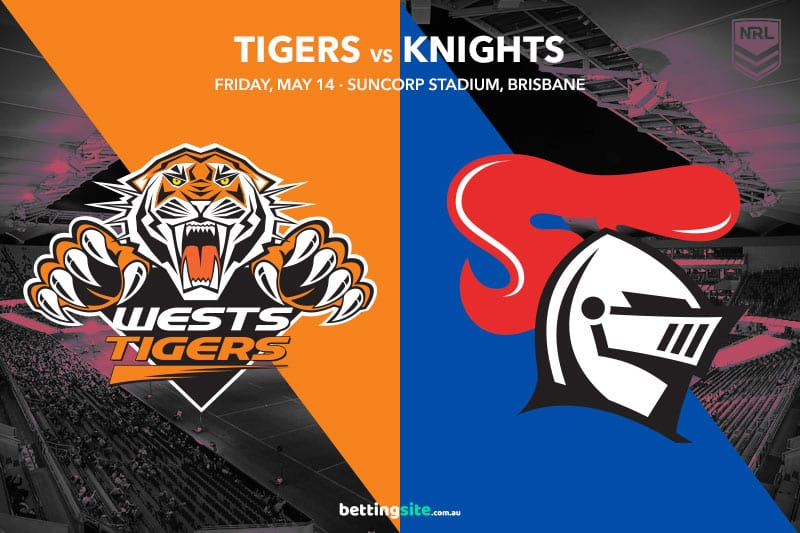 Wests Tigers vs Newcastle Knights