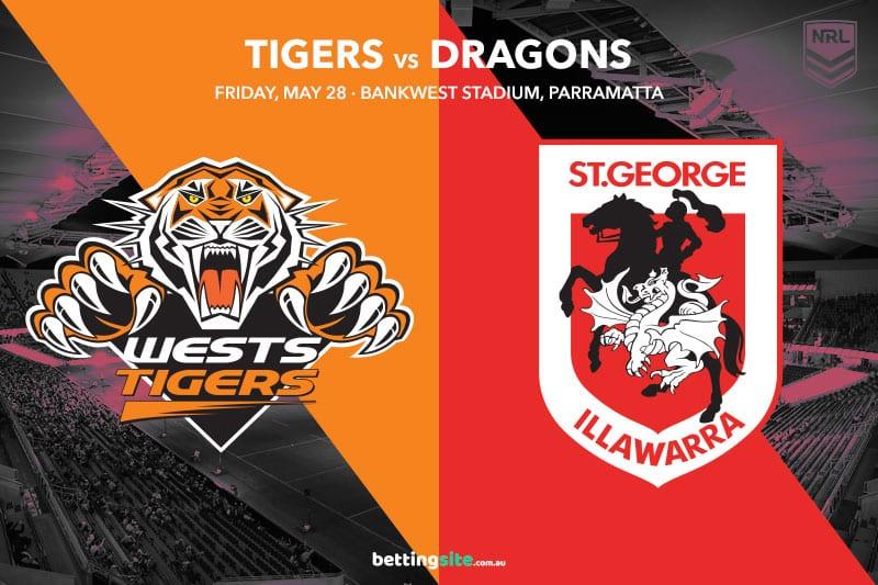 Wests Tigers vs SGI Dragons