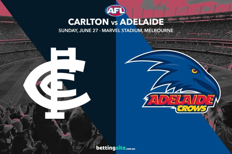 Blues Crows AFL R15 betting tips
