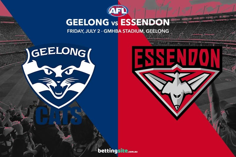 Cats Bombers AFL R16 betting tips