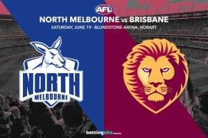 Kangaroos Lions AFL betting tips