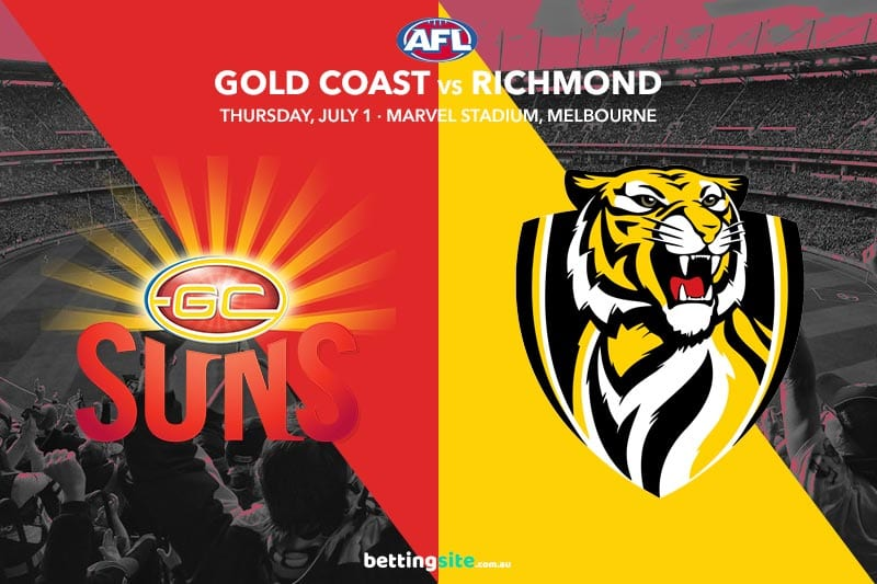 Suns Tigers AFL Rd 16 betting tips
