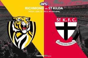 Tigers Saints AFL betting tips