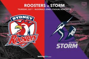 Roosters Storm NRL Rd 16 betting tips