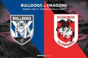 Bulldogs Dragons NRL R14 tips