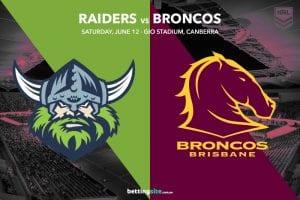 Canberra vs Brisbane NRL R14 tips