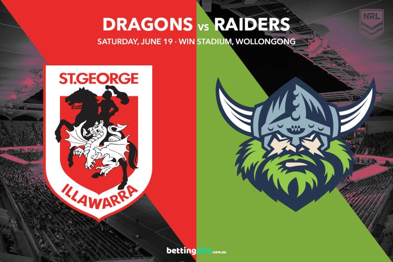 SGI Dragons vs Canberra Raiders