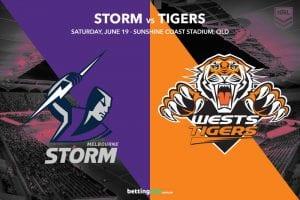 Melbourne Storm vs Wests Tigers