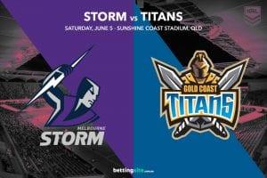 Melbourne Storm vs Gold Coast Titans