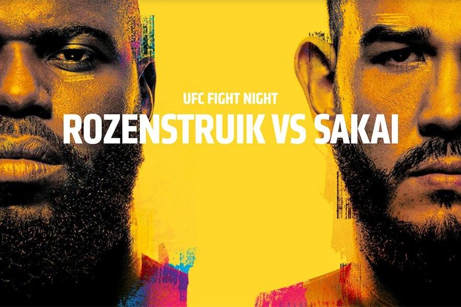 Jairzinho Rozenstruik vs Augusto Sakai - UFC Vegas 28