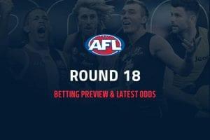 AFL Rd 18 betting