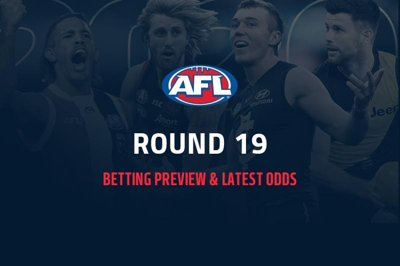 AFL Rd 19 preview and betting odds