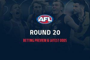 AFL Rd 20 odds