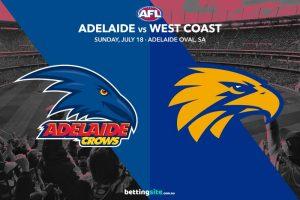 Crows Eagles AFL Rd 18 tips