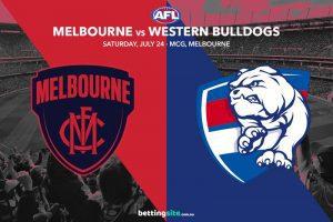 Demons Bulldogs AFL R19 betting tips