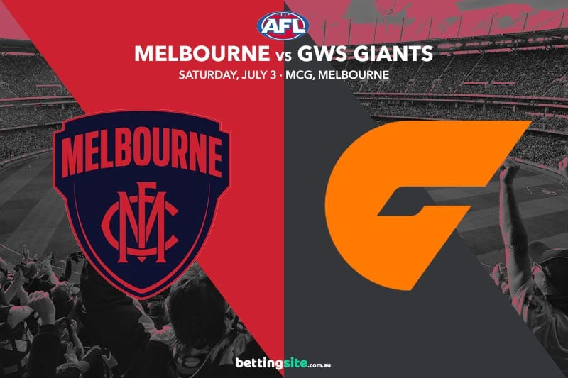 Melbourne GWS AFL Rd 16 betting tips