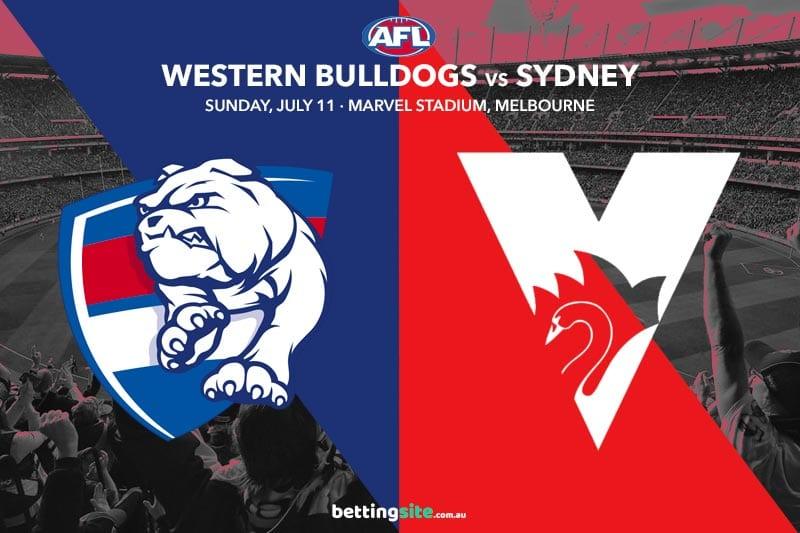 Bulldogs Swans AFL R17 betting tips