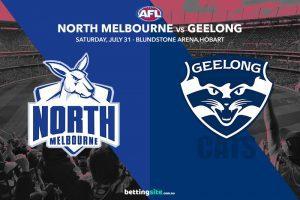 Kangaroos vs Cats AFL tips