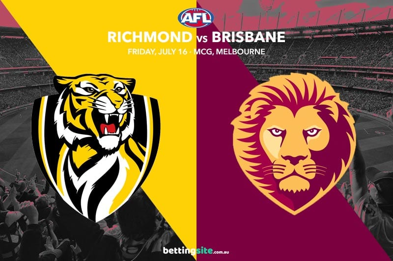 Tigers Lions AFL Rd 18 betting tips