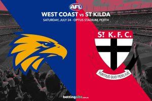 Eagles Saints AFL R19 betting tips
