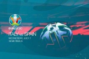EURO 2020 semi finals - Italy vs Spain