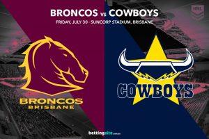 Brisbane Broncos vs North Queensland Cowboys
