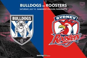 Canterbury Bulldogs vs Sydney Roosters
