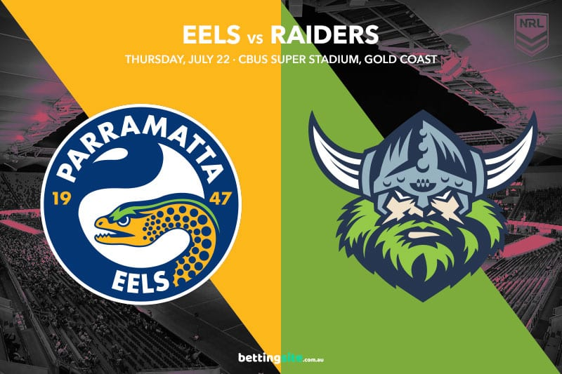 Eels Raiders NRL R19 betting tips