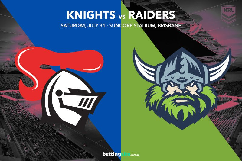 Newcastle Knights vs Canberra Raiders
