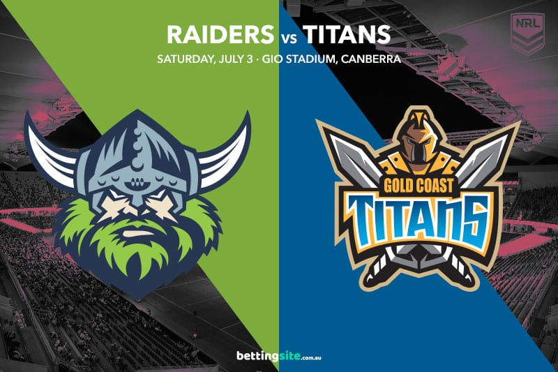 Canberra Raiders vs Gold Coast Titans