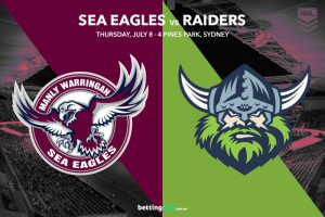 Manly Sea Eagles vs Canberra Raiders