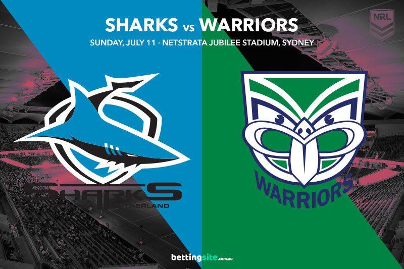 Sharks Warriors NRL betting tips