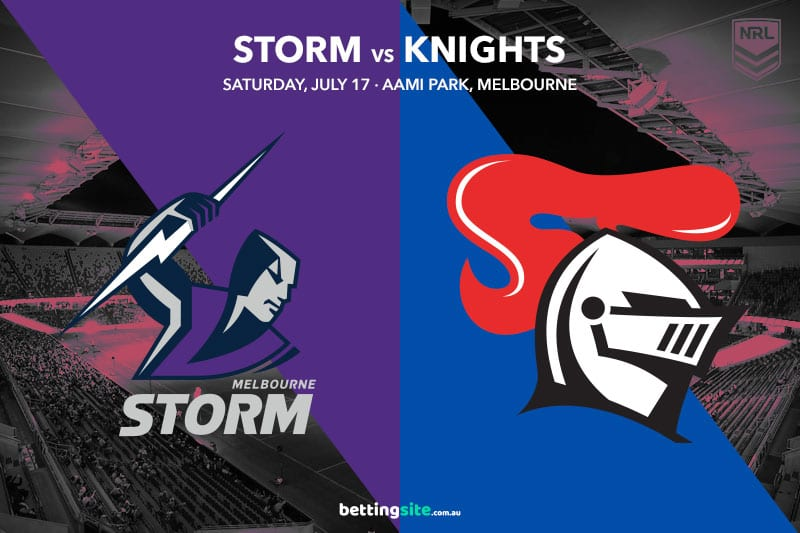 Melbourne Storm vs Newcastle Knights
