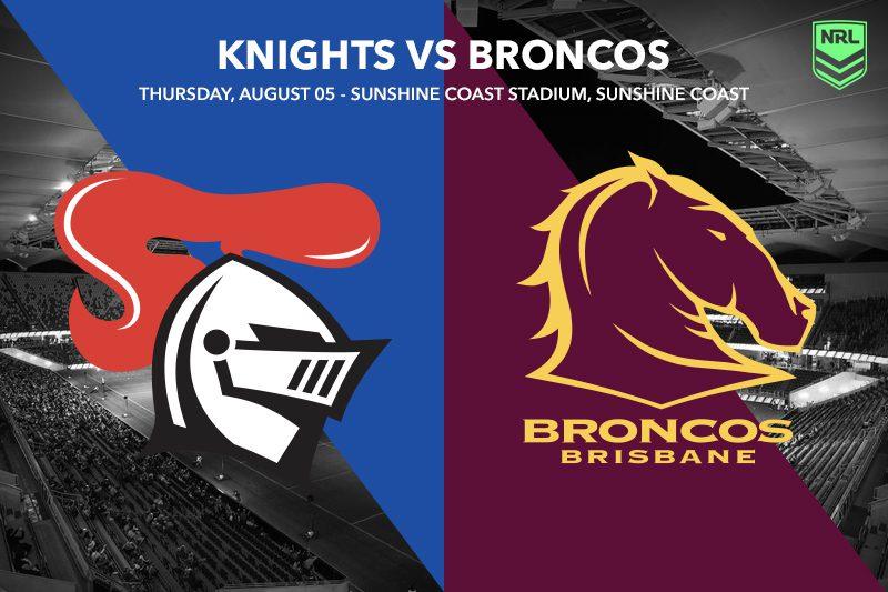Knights Broncos NRL tips