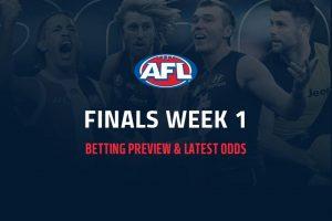 2021 AFL finals betting