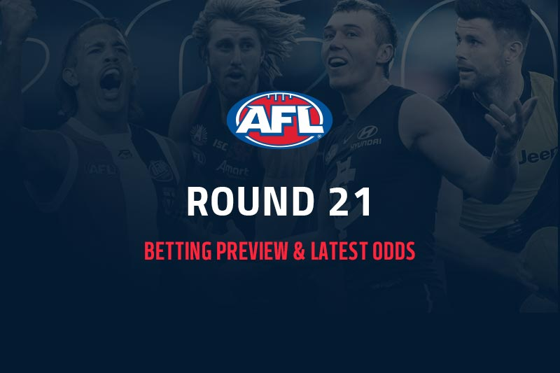AFL R21 preview & odds