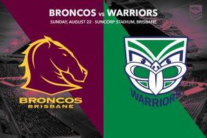 Brisbane Broncos vs NZ Warriors