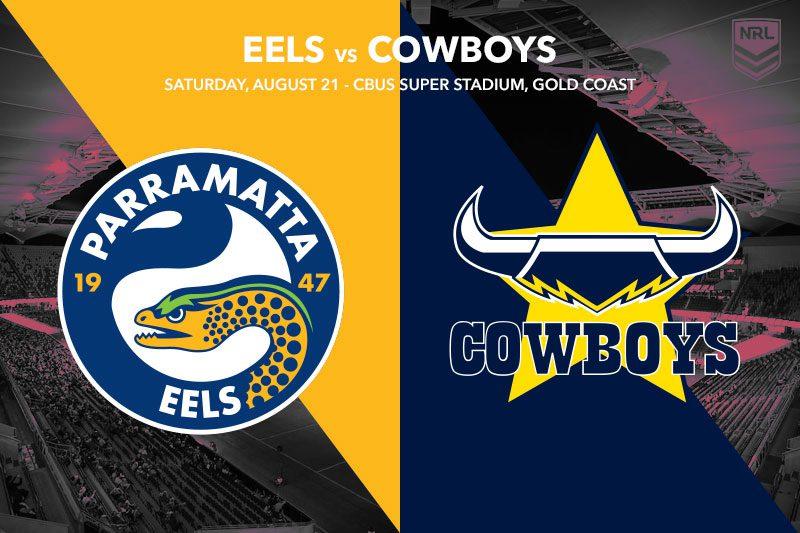 Parramatta Eels vs Nth Qld Cowboys