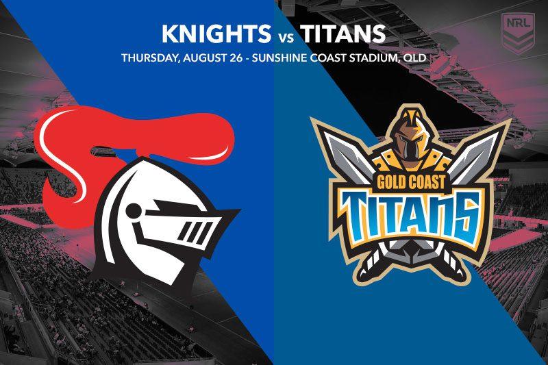 Newcastle Knights vs Gold Coast Titans