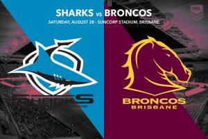 Cronulla Sharks vs Brisbane Broncos
