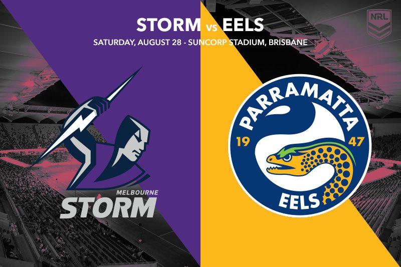 Melbourne Storm vs Parramatta Eels
