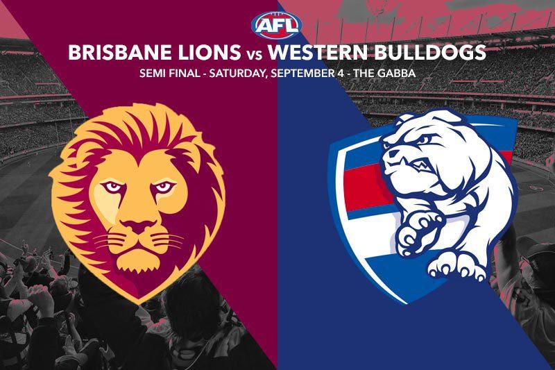 Brisbane Lions vs Western Bulldogs