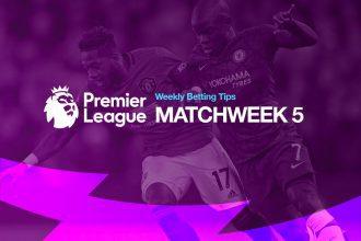 Premier League MW5 betting tips