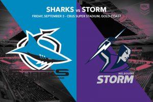 Cronulla Sharks vs Melbourne Storm