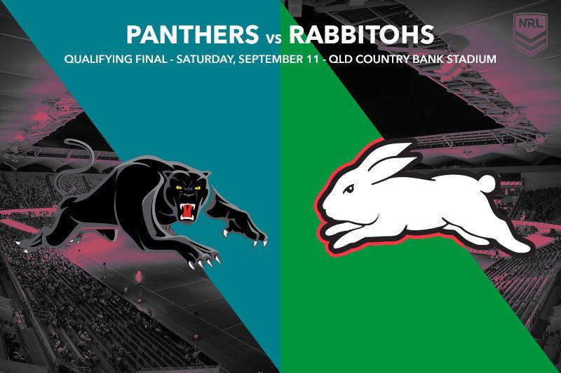 Panthers Rabbitohs NRL finals tips