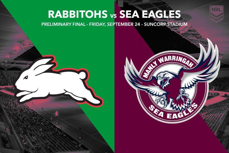 South Sydney vs Manly NRL finals tips