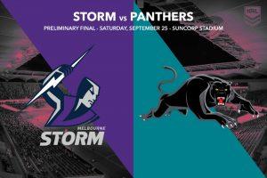 Melbourne Storm vs Penrith Panthers - NRL Finals 2021